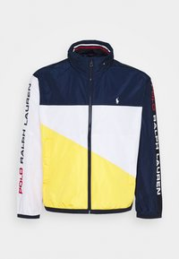 Polo Ralph Lauren Big & Tall - PACE FULLZIP - Lehká bunda - newport navy/yellow - 6