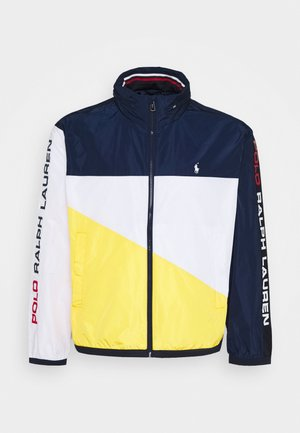 PACE FULLZIP - Summer jacket - newport navy/yellow