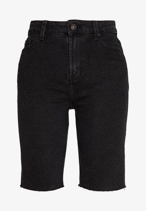 ONLEMILY LONG  - Szorty jeansowe - black