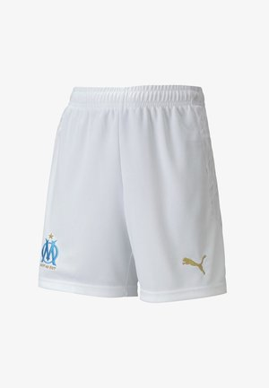 Sports shorts - puma white-bleu azur