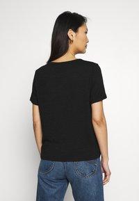 GAP - Basic T-shirt - true black - 2