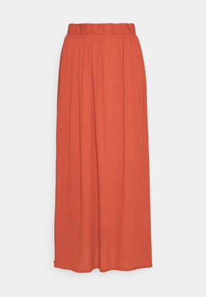 IHMARRAKECH - Pleated skirt - hot sauce