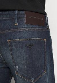 Emporio Armani - Slim fit -farkut - blue denim - 4