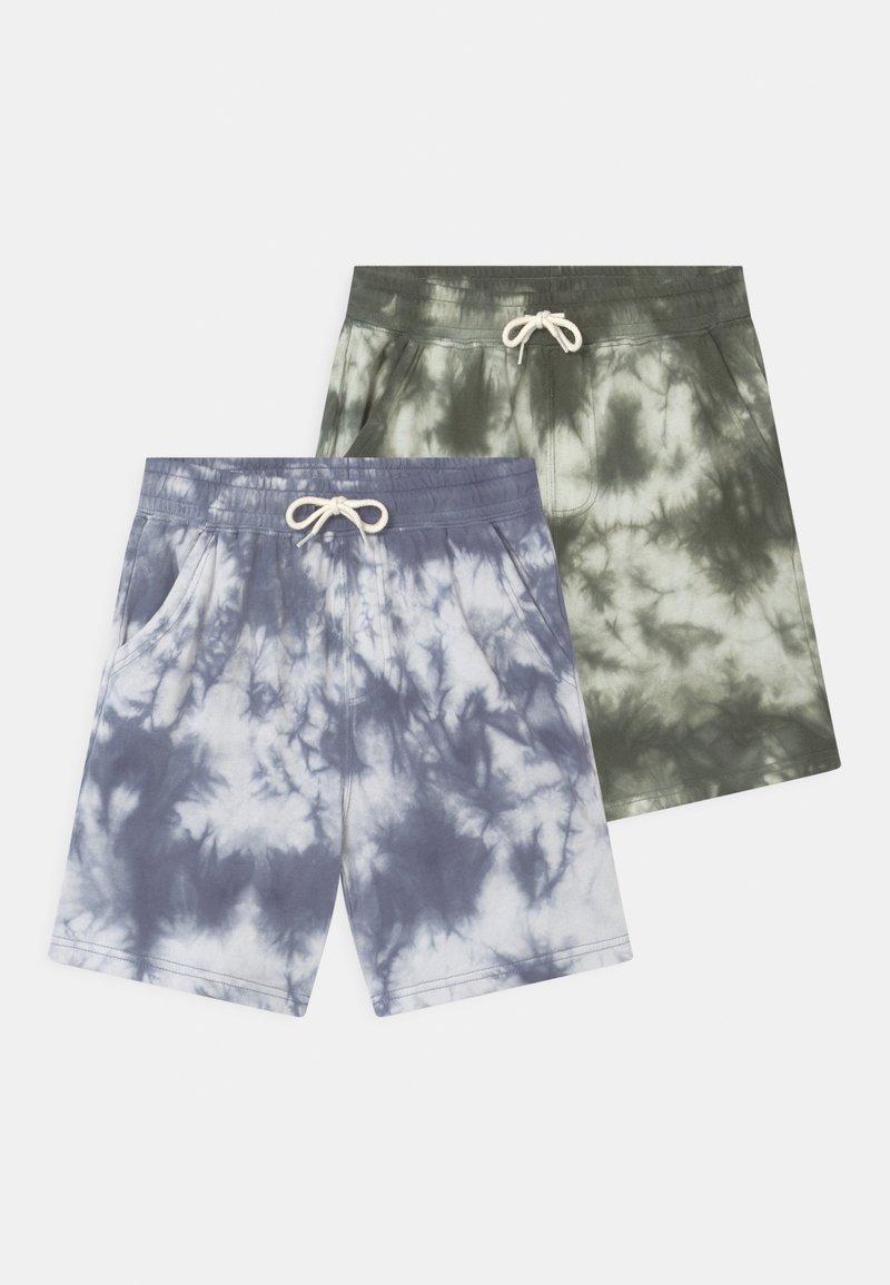 Cotton On - HENRY SLOUCH 2 PACK - Teplákové kalhoty - swag green/steel