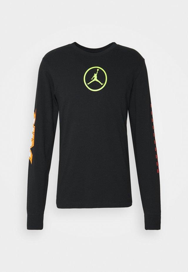 CREW - Long sleeved top - black