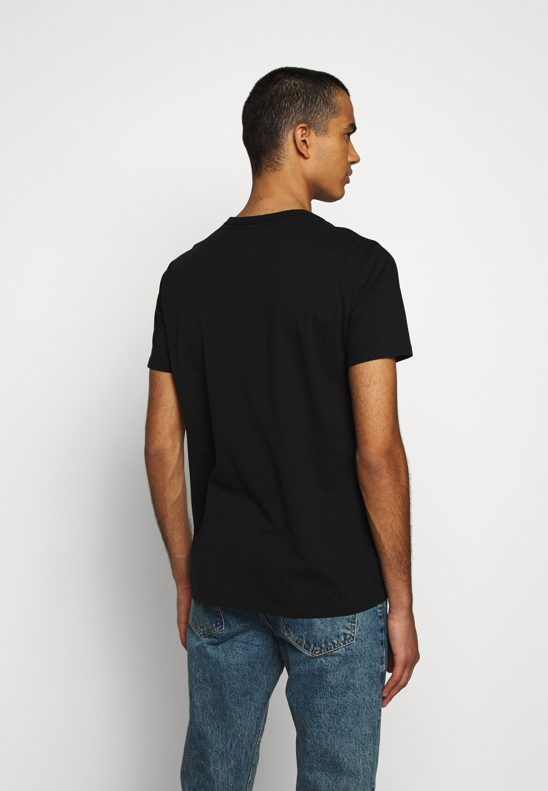True Religion CREW BRAND HORSESHOE - Print T-shirt - black iMhyY
