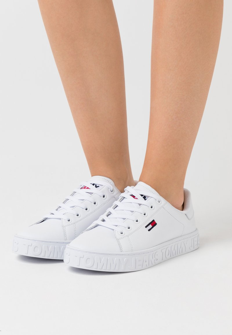Tommy Jeans - COOL CUPSOLE  - Sneakers basse - white