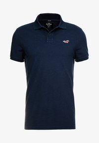 Hollister Co. - HERITAGE SLIM SOLID - Polo shirt - navy - 3
