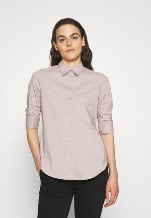 LIZA ESSENTIAL BLOUSE - Button-down blouse - frosty mauve