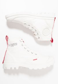 Palladium - PAMPA HI DARE UNISEX - Lace-up ankle boots - star white - 1