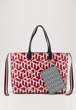 ICONIC TOTE MONOGRAM - Tote bag - red