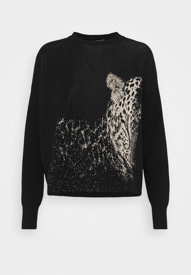 IXIE - Jersey de punto - nero pantera