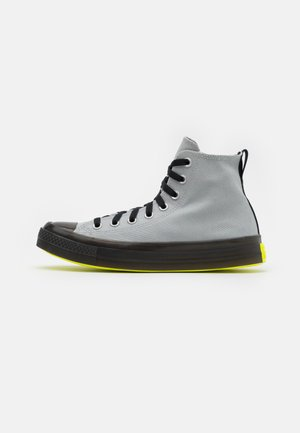 CHUCK TAYLOR ALL STAR UNISEX - Sneaker high - ash stone/black/lemon