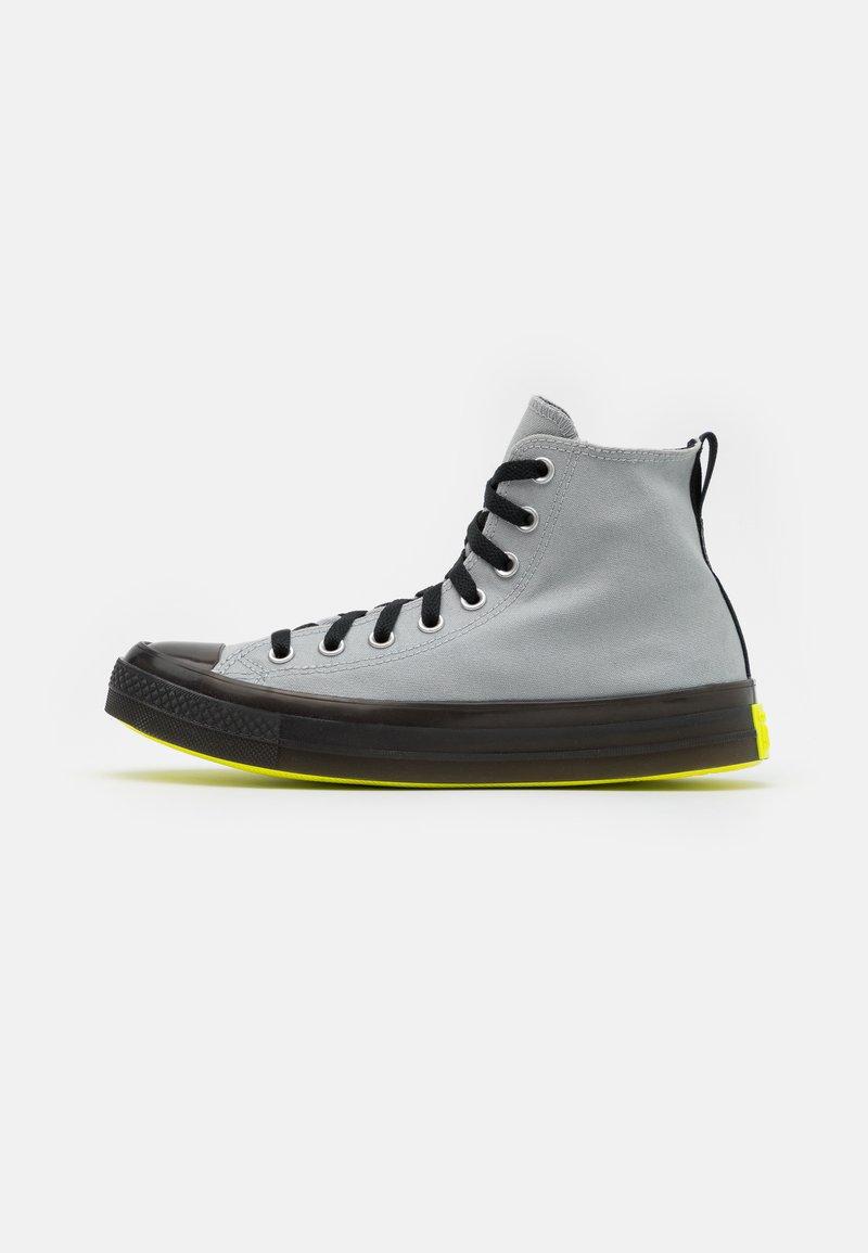 Converse - CHUCK TAYLOR ALL STAR UNISEX - High-top trainers - ash stone/black/lemon