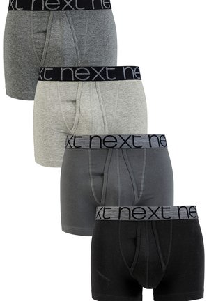 GREY A-FRONTS FOUR PACK - Boxerky - grey
