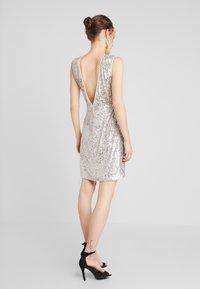 NAF NAF - LASHIN - Cocktail dress / Party dress - silver - 2