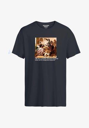 HISTORY - Print T-shirt - asphalt