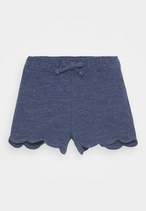 TODDLER GIRL SCALLOP - Shorts - blue heather