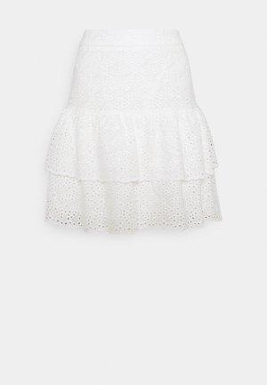 KACEY SKIRT - Mini skirt - white