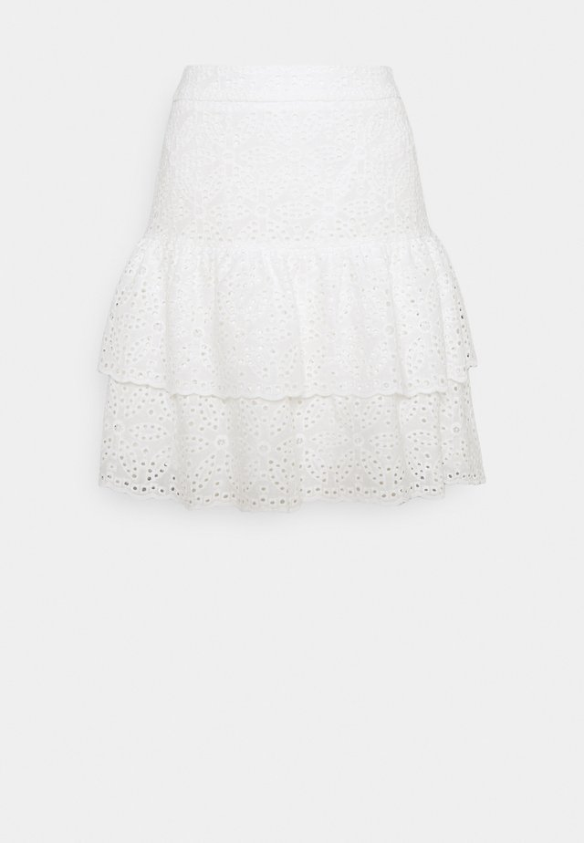 KACEY SKIRT - Minijupe - white