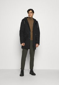 INDICODE JEANS - CARVER - Winter coat - black - 1