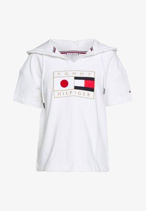 JAPAN OLYMPICS HOODIE - Triko spotiskem - white