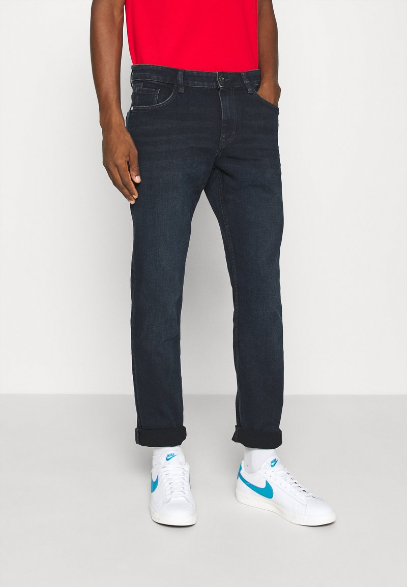 TOM TAILOR - JOSH - Straight leg jeans - dark stone blue