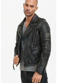 Trueprodigy - BRYAN - Leather jacket - black - 0