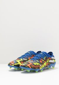 adidas Performance - NEMEZIZ MESSI 19.1 FG - Voetbalschoenen met kunststof noppen - team royal blue/silver metallic/solar yellow - 2