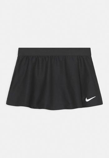 FLOUNCY SKIRT - Sports skirt - black/white