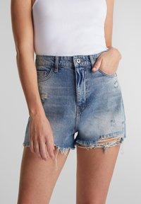 edc by Esprit - FESTIVAL  - Denim shorts - blue medium washed - 4