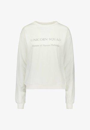 UNICORN SQUAD  - Collegepaita - white