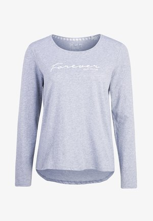Pyjama top - grey melange