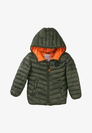 Winter jacket - khaki camo