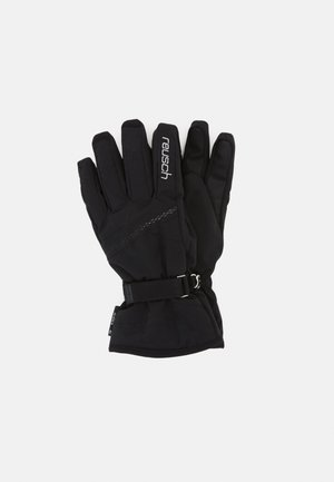 HANNAH  - Gloves - black/silver