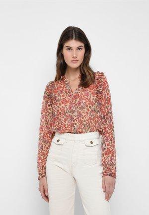 ROBERT - Button-down blouse - multicoloured