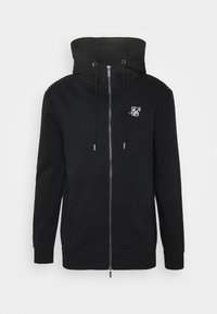 SIKSILK - ZIP THROUGH FUNNEL NECK HOODIE - Zip-up hoodie - black - 3