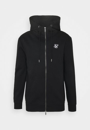 ZIP THROUGH FUNNEL NECK HOODIE