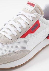 Puma - RIDER - Trainers - gray violet/white/dark denim - 5