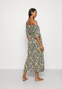 LASCANA - Jersey dress - schwarz/gelb - 2
