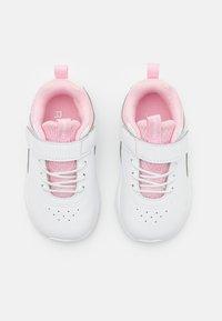 Reebok - RUSH RUNNER 4.0  - Zapatillas de running neutras - footwear white/pink glow - 3
