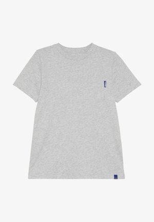 CLASSIC POCKET TEE - T-paita - grey melange