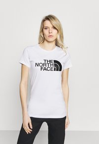 The North Face - EASY TEE - Print T-shirt - white - 0
