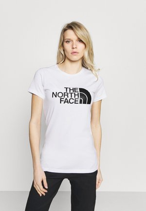 EASY TEE - T-shirt z nadrukiem - white