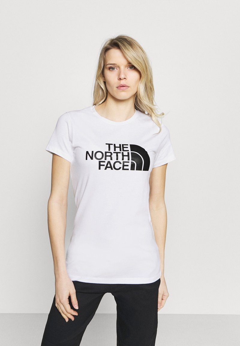 The North Face - EASY TEE - Print T-shirt - white