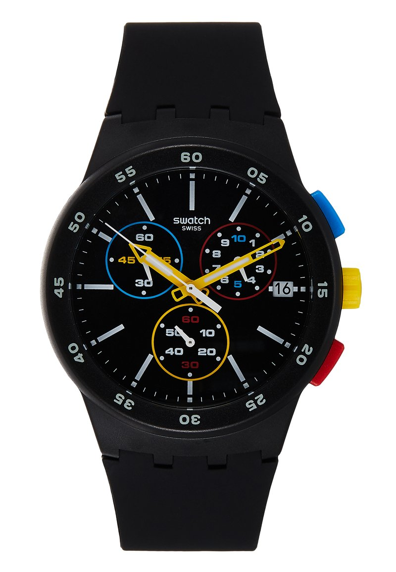 Swatch - ONE - Chronograaf - black