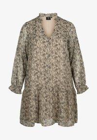 ZAY - Sukienka letnia - beige/grey - 0