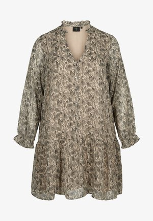 Day dress - beige/grey