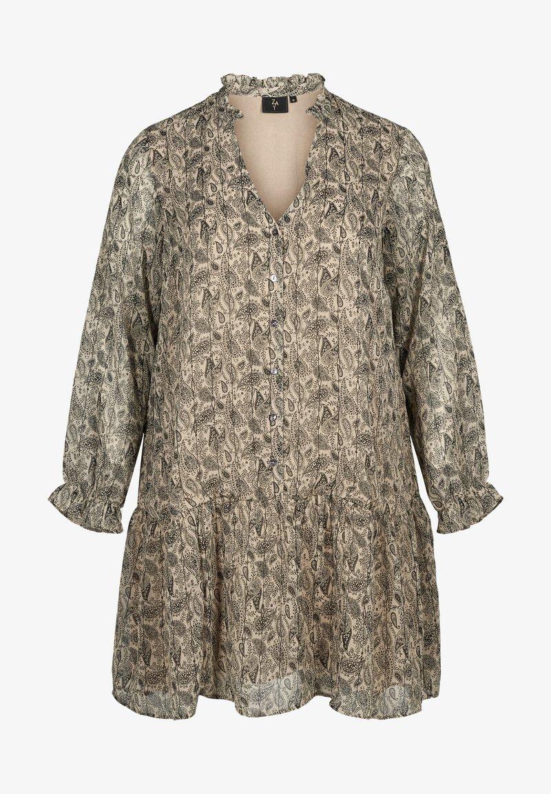 ZAY - Sukienka letnia - beige/grey