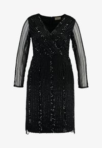 Lace & Beads Curvy - EXCLUSIVE MAJIC DRESS - Cocktail dress / Party dress - black - 5